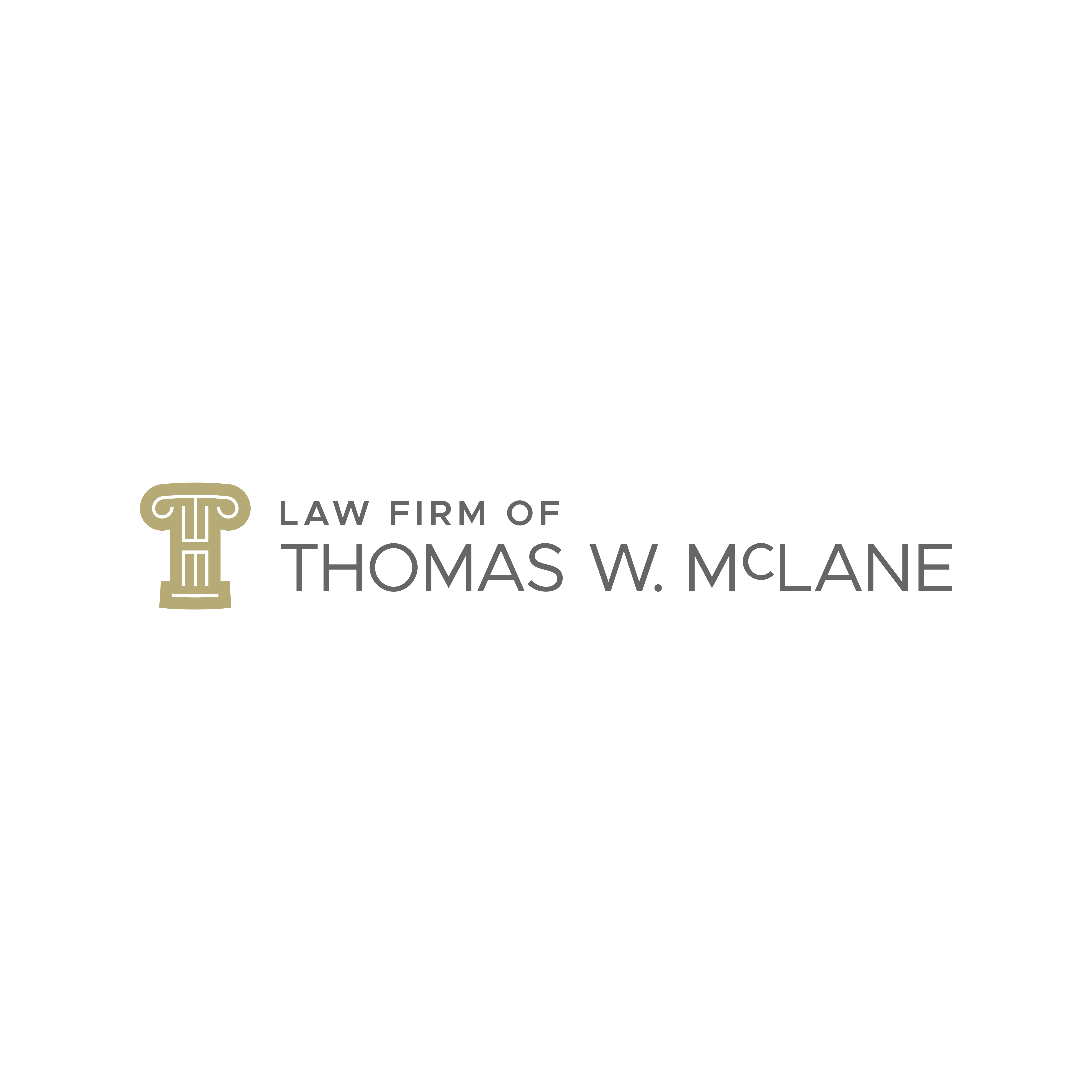 Thomas W. McLane Law - Logo Design