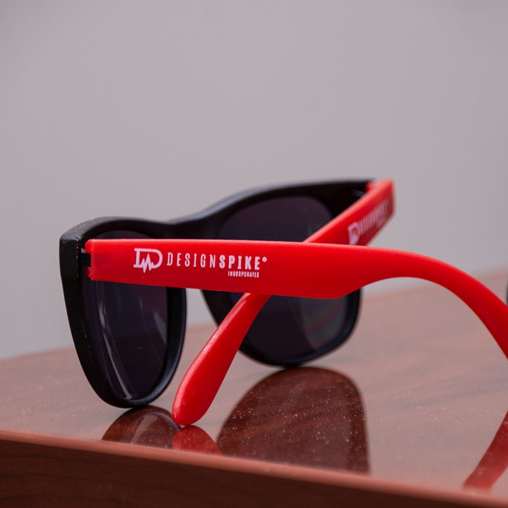 Design Spike branded sunglasses